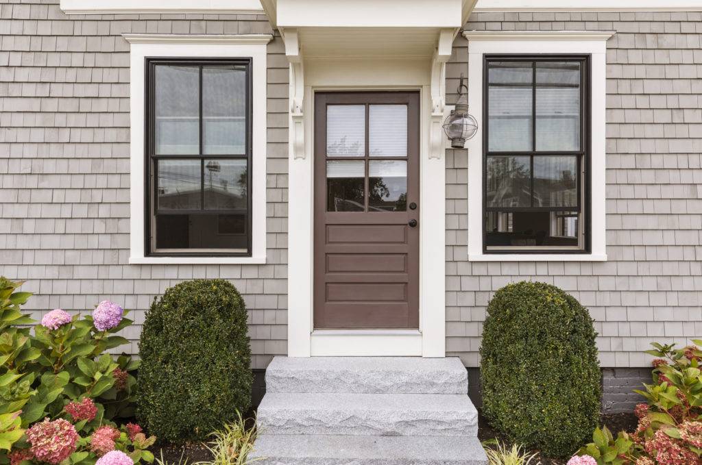 Brown front door | Windows and Doors Services, Atlanta, GA | Hands You Demand